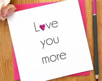 Valentine's Card For Girlfriend, Boyfriend, Husband, Wife