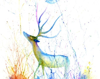 Deer and the Dove