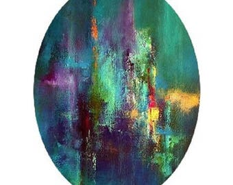 30x40mm cabochon abstract 2