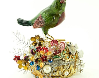 Jewelled Singing Bird by Basia Zarzycka