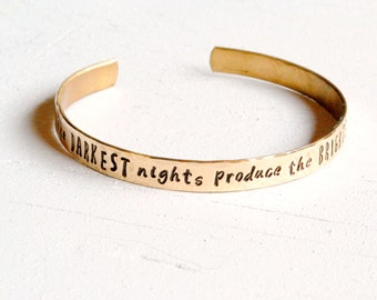 Darkest Nights Cuff