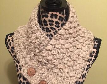 Crochet scarf / cowl / neckwarmer