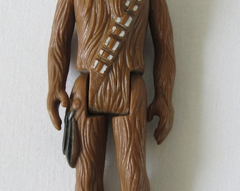 "Star Wars Chewbacca 1977 Kenner Vintage 3.75"" Action Figure Toy"