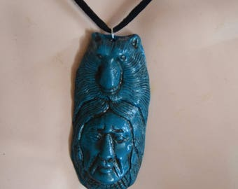 Necklace Indian turquoise