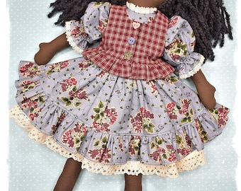 PDF - Rosie Rag Doll Sewing Pattern