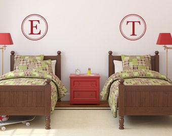 Monogram For Boys | Monogram For Girls | Nursery Monogram | Monogram Wall  Decal | Initial