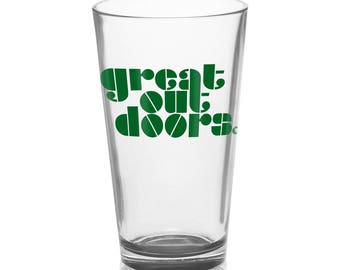 Great Outdoors - Pint Glass