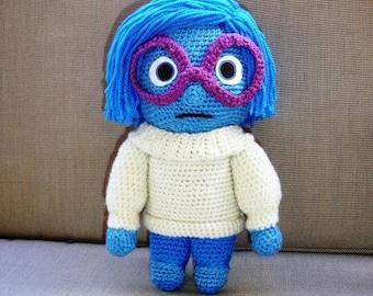 Crochet Pattern pdf -doll Sadness/amigurumi