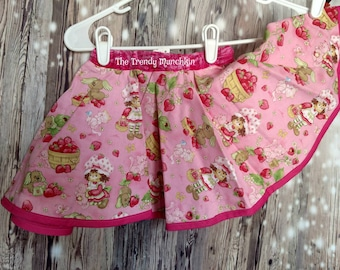 Strawberry Shortcake Reversible skirt