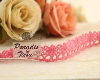 184cm cotton pink lace Ribbon