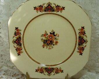 Wedgewood  & Co. England Frontenac Dinner Plate - Numbered Vintage Ivory