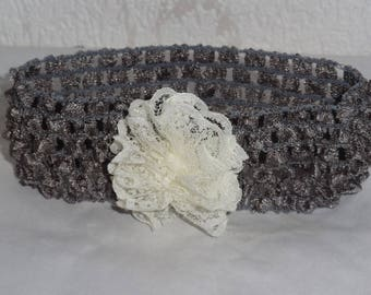 Headband for baby or children from 3 months to 2 years