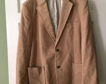 Mens Vintage Preswick and Moore Corduroy Blazer Large 44R