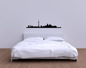 Toronto city skyline vinyl decal sticker