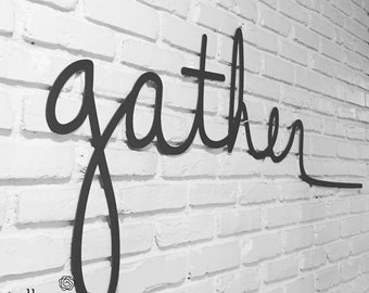 Big Salvaged Word: GATHER