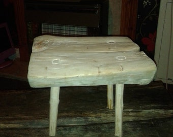 homemade kids stool