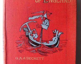 Comic History of England Gilbert Abbott A'Beckett Illustrated John Leech