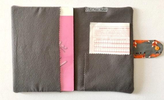 Porta documenti da viaggio cover per libretto pediatrico