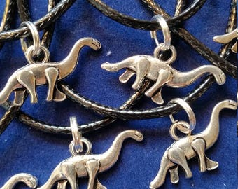 Lot de 10 bonbonnières colliers dinosaures livraison gratuite