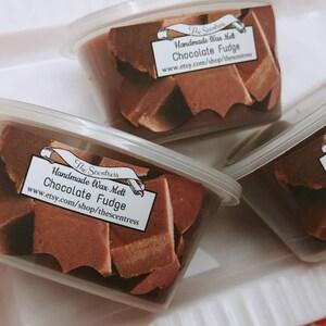 Chocolate Fudge Wax Melt - Chocolate Wax Melt - Chocolate Wax Shot - Chocolate Candle Melt - Chocolate Tart Melt