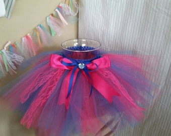 Gender Reveal tutu set!! 2T- 5T Ready to ship today!!!!