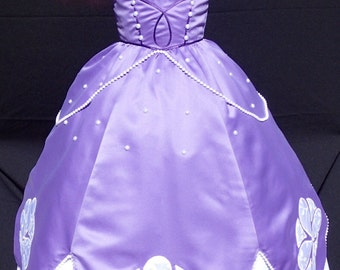 Sofia the first princess costume made to order
