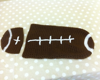 Football Infant Cocoon