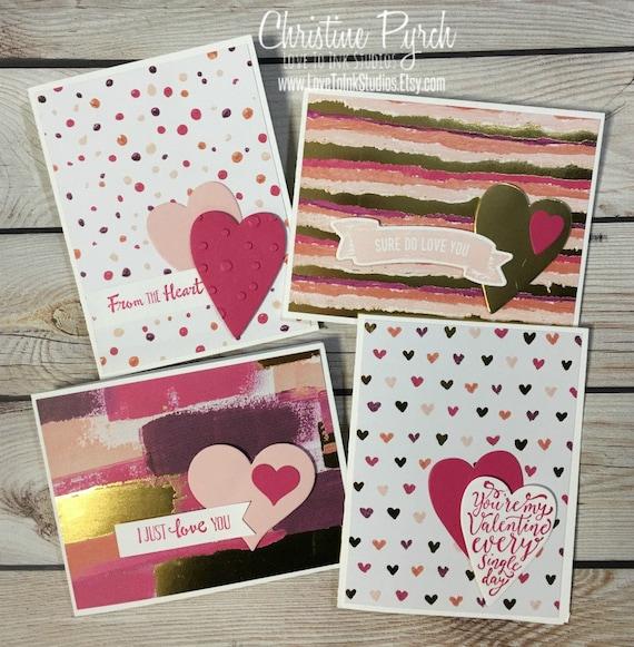 Happy valentines day handmade greeting cards valentines m4hsunfo