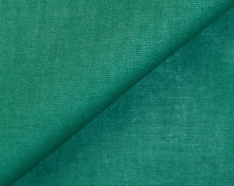 100% cotton Poplin fabric (in multiples of 20cm) Pine Green
