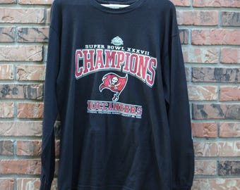 Tampa Bay Buccaneers Super Bowl Championship long sleeve shirt Men's Large