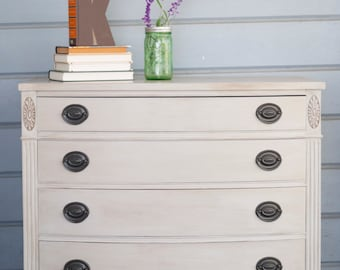 SOLD - Refinished Vintage Drexel Dresser