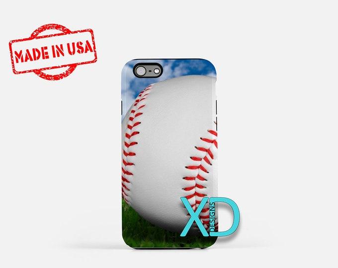 Baseball iPhone Case, Sport iPhone Case, Baseball iPhone 8 Case, iPhone 6s Case, iPhone 7 Case, Phone Case, iPhone X Case, SE Case