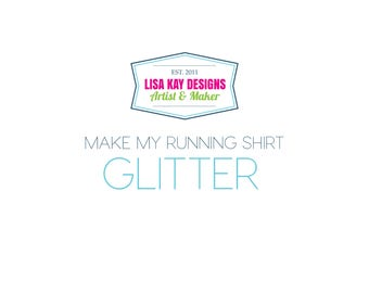 Make My Running Tank GLITTER!