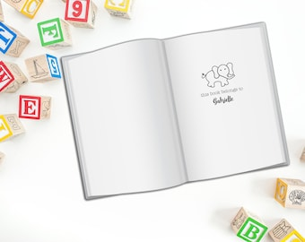 Children's Book Stamp, Kids Name Stamp for Books, Stamp your Children's Books with Their Name