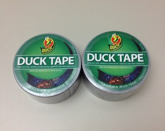 Patterned Duct Tape!!!  2 Rolls!!!