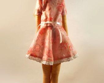 Eva Princess Tilda. Handmade Tilda Doll - 23.2' (59cm)
