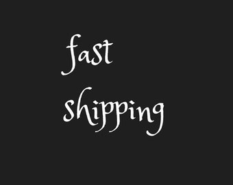 FAST SHIPPING Ships in 2 days