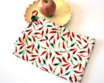Hot Pepper Pot Holder Set, Spring Celebrations, Kitchen Dining Pot Holder, Home Living, Trivets Pot Holders, Cookware Hot Pad, Oven Mitts