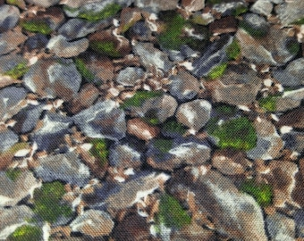 Quilt Fabric Fading Into Fall Stones RJR Fabrics  1/2 yard Cotton Fabric Quilting Sewing Crafting
