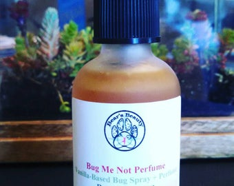 VANILLA BUG SPRAY | Bug Perfume Spray | Vanilla Bug Spray | Mosquito Repellent | Smells Like Perfume | Vanilla + Cedar + Citrus