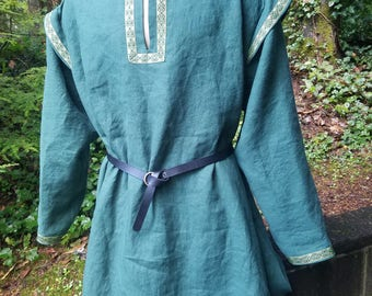 Men's Medieval Linen Tunic - XXL