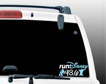 Run Disney Dopey Challenge Car Decal/Dopey Challenge/Run Disney
