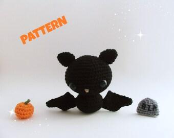 Amigurumi Bat Pattern, Crochet Doll Pattern, Amigurumi Animal Pattern, Crochet Animal Pattern, Amigurumi Doll Pattern, Amigurumi Patterns