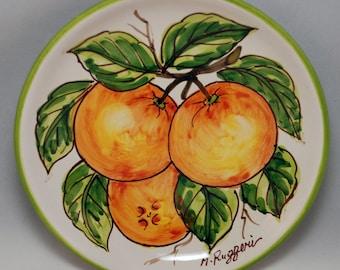 Traditional Sicilian Decorative Plate