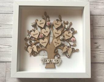 Family Tree Keepsake Frame