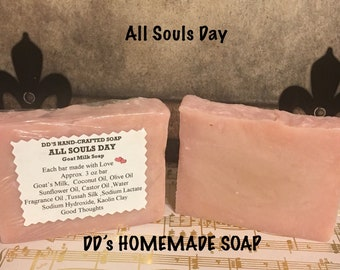 All Souls Day Hand Made Soap