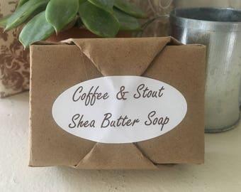 Shea Butter Soap - Coffee & Stout
