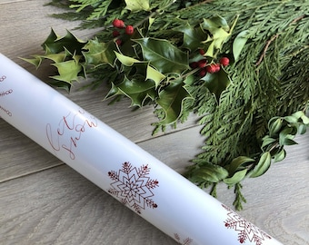 Let it Snow Christmas Gift Wrap