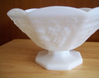 Large Milk Glass Bowl