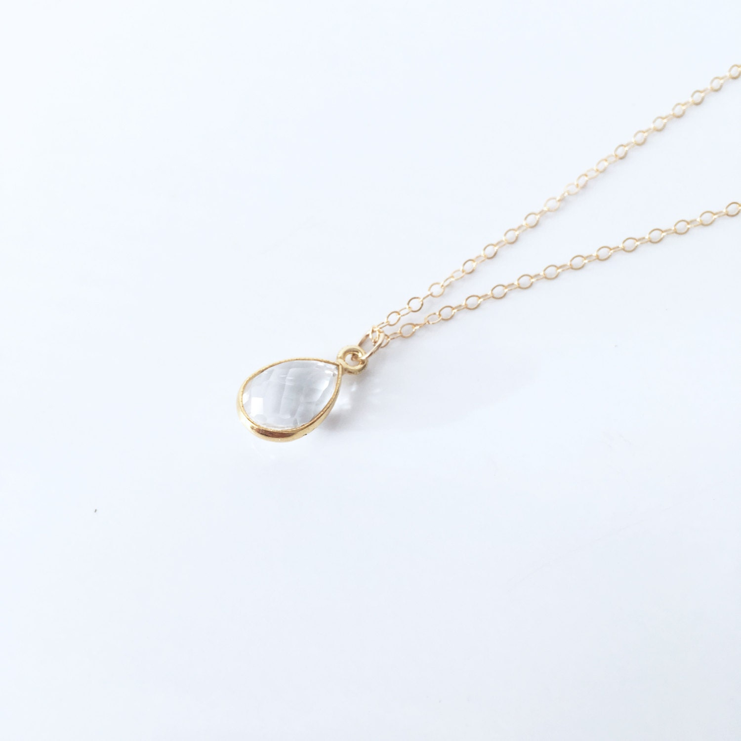 choker for il aden her gold jewelry products gift tiny fullxfull diamond minimal necklace claire under clear sparkling swarovski filled round pebble crystal dainty gem